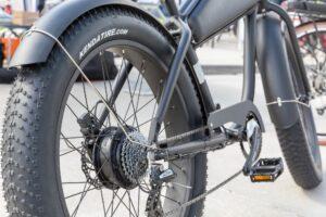 fat tire cruiser beach electric bike