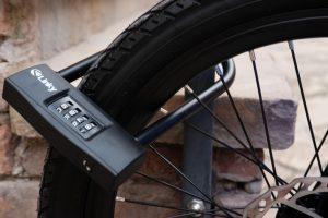 u-lock on electric bike security