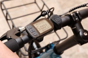electric bike screen changing riding mode for more help