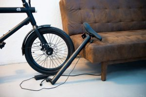 charging an ebike battery on couch energy efficiency